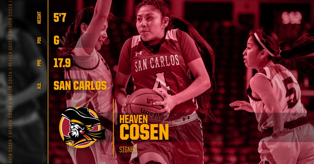 Another exciting and dynamic addition to @buccaneerswbb.  Welcome Heaven Cosen to the Buccaneer family. https://t.co/WMHPGqlC7W