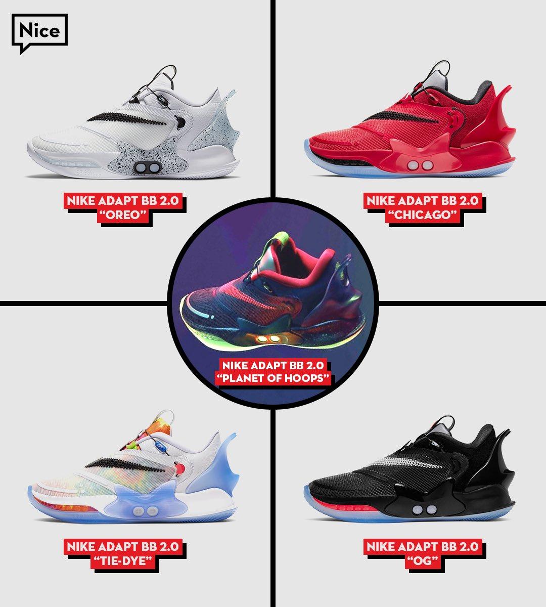 Nice Kicks Twitterissa The Nike Adapt Bb 2 0 Has Some Fire Colorways