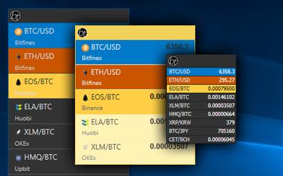 widget cryptocurrency prices windows 7
