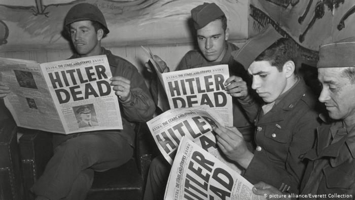 On this day, 75 years ago, Adolf Hitler killed himself.