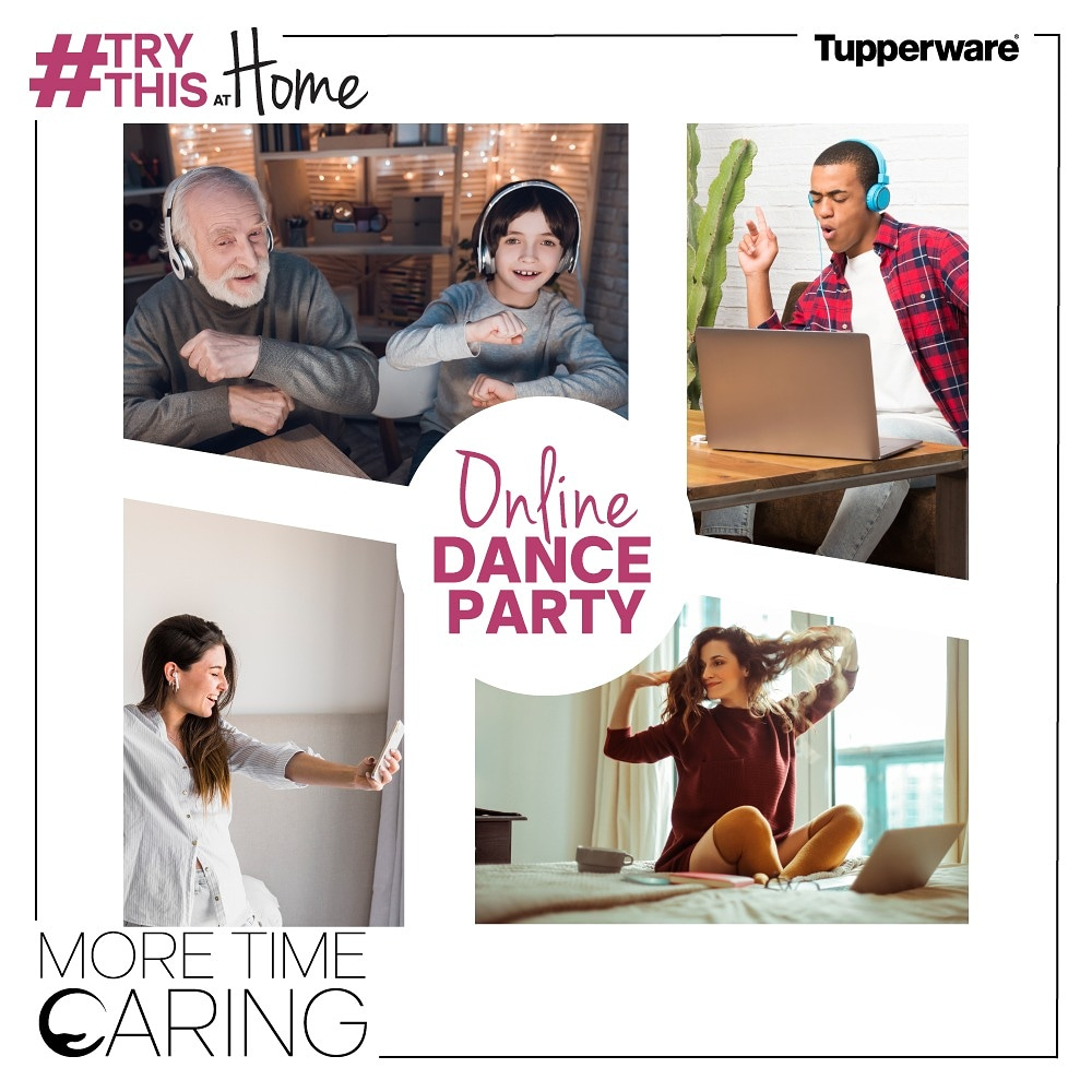 Its a long weekend! Miss going out, clubbing and dancing? Get in the weekend groove with a #TryThisAtHome online dance party! Who are you going to invite? #MoreTimeCaring #StayHome #StaySafe https://t.co/xFKzMHHrP6
