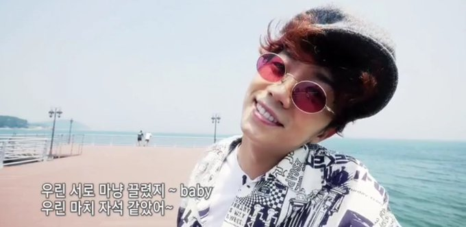 Here I am, randomly messageing about us. Am so happy for us all!  Happy birthday, Jang Wooyoung!!