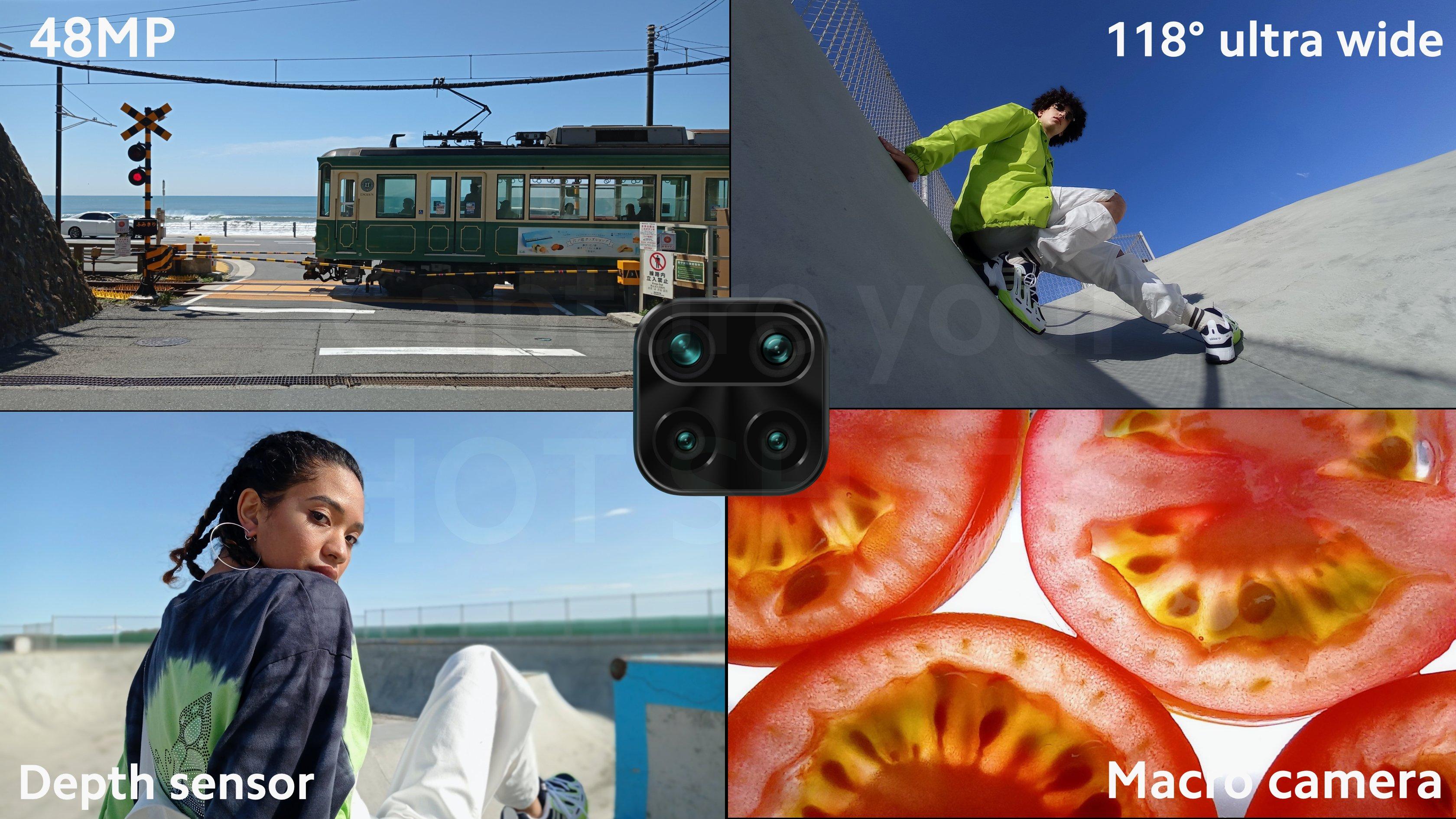 48 MP AI Quad Camera HotShot  Set-up Of Redmi Note 9