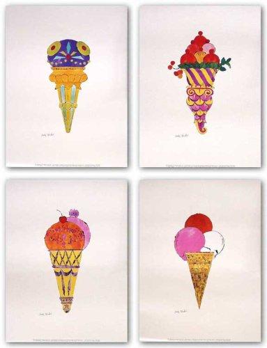 A tavola con l'arte.  L'arte del #dolce: dal #gelato artigianale al #cioccolato. Qual è il tuo dessert preferito?  #CucinareCon passione.   Ph: Andy Warhol, Ice Cream Dessert  #Sigep2021 https://t.co/I94bOMxlMG