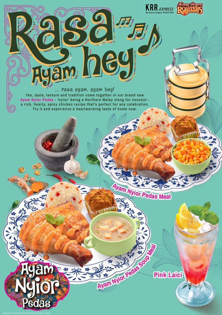 Maqan On Twitter Promosi Ramadan Rasa Ayam Hey Rasa Ayam Ayam Hey Gembiranya Bila Dapat Tahu Kenny Rogers Roasters Malaysia Ada Menu Baru Memang Tak Sah Kalau Takde Masakan Ayam Macam Ni So