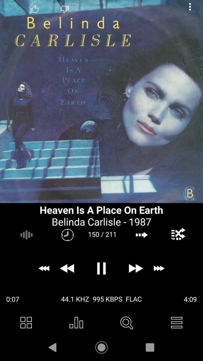 ベリンダ カーライル heaven is a place on earth