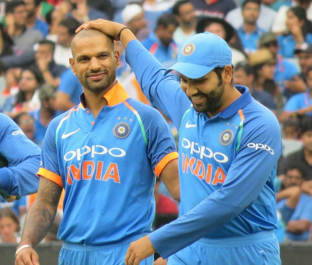 Happy birthday partner @ImRo45, hope you keep striking the ball out of the ground as clean as a shooting star 😉😎
