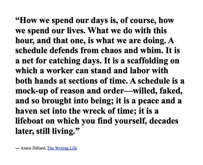 Happy Birthday today to Annie Dillard.