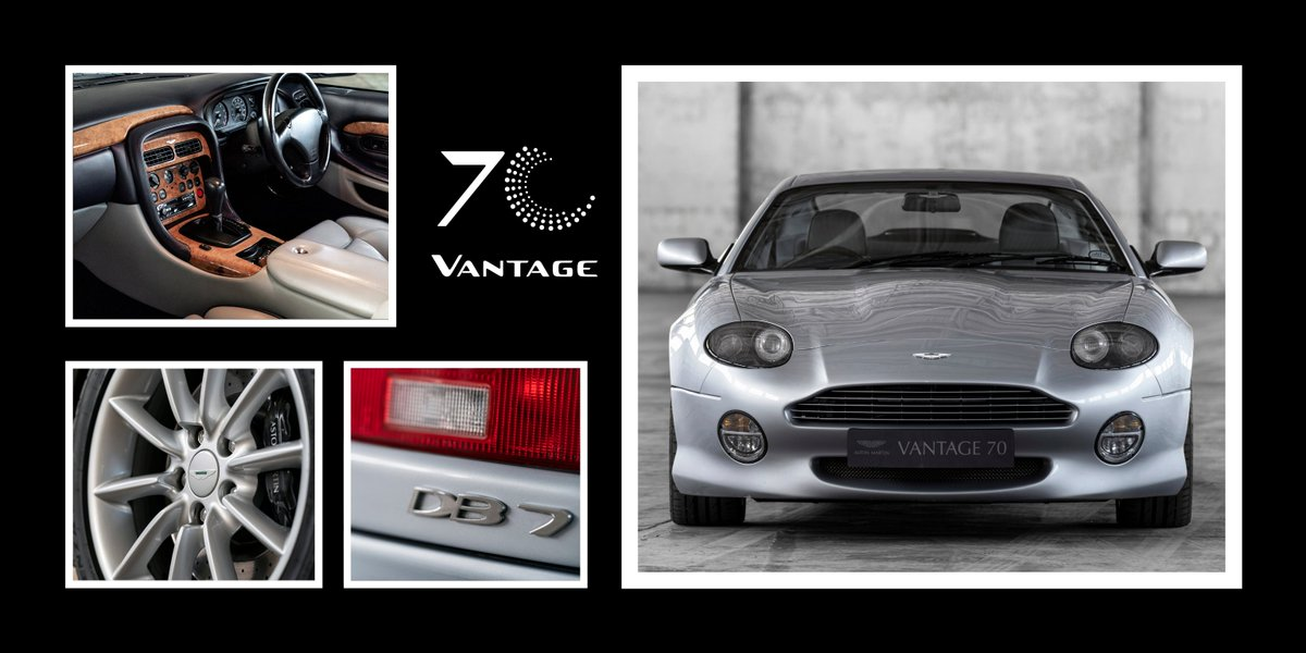 Aston Martin On Twitter The Db7 V12 Vantage Became The Next Aston Martin To Sport The Badge When It Was Unveiled At The 1999 Geneva Motor Show Restyled By Designer Ian Callum