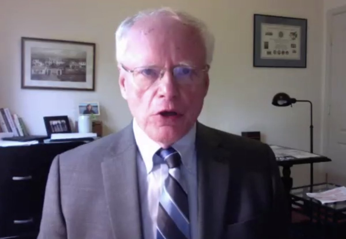 специальный представитель США по Сирии Джеймс Джеффри 13 мая провёл видео-беседу с представителями Института Хадсона о политике США на Ближнем Востоке