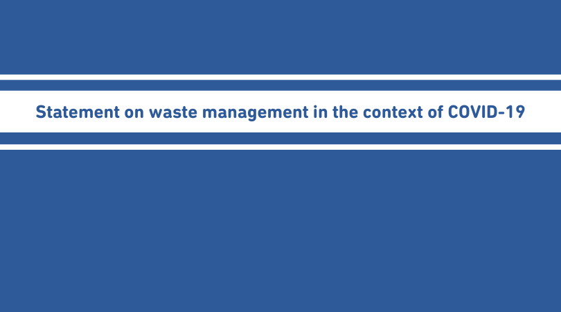 test Twitter Media - 🙅‍♀️ There is no reason to:  ♻️ Stop doing separate collection & recycling ☣️Burn waste or build more #wte capacities   Read more➡️https://t.co/28sUkih5vy  #COVID19 #ZeroWaste #WasteManagement https://t.co/Oz5uYGQOSG