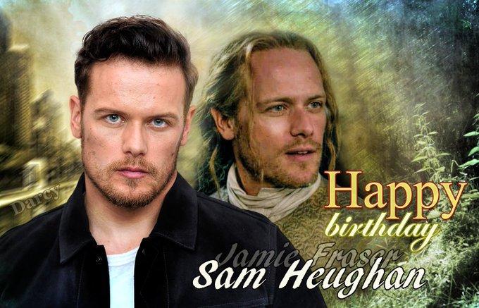 Happy birthday Sam Heughan!