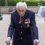 Wishing @captaintommoore  a very happy 100th birthday today. Amazing achievement to have raised over £30M and congratulations on your new title Colonel, well deserved. #nhscharitiestogether #HappyBirthdayCaptainTom #ColonelTomMoore