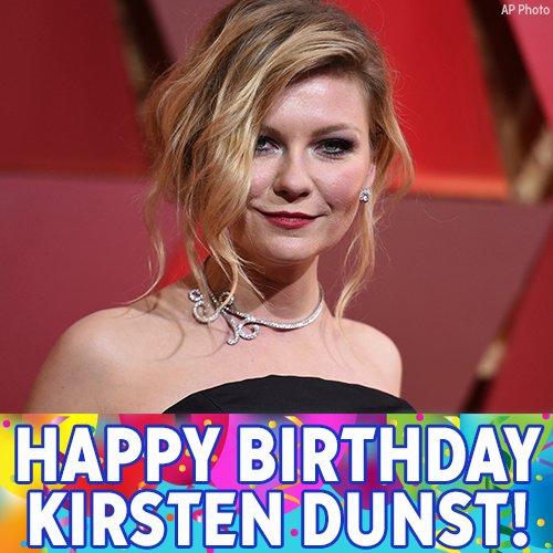 "Yeah! \""Bring it On\"" actress Kirsten Dunst turns 38 today! Happy Birthday!"