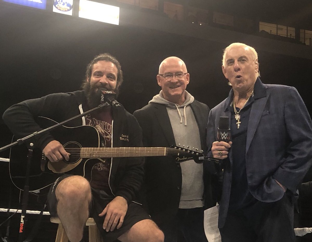 HAPPY #ThrowbackThursday @IAmEliasWWE @RicFlairNatrBoy https://t.co/ihdp70bmcQ