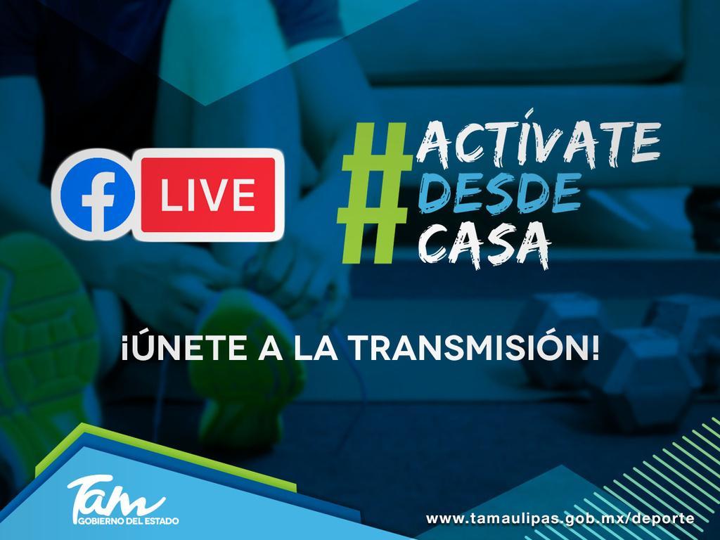 #ActívateDesdeCasa 🏡  Únete a la transmisión de la activación física #1️⃣1️⃣ vía 🔴 #FacebookLive  ▶️ Clic aquí https://t.co/TvCgXVdBoh 👈👈 https://t.co/pNC1LwugaP