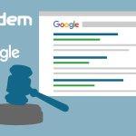 Image for the Tweet beginning: Google's zoekalgoritme mogelijk onthult aan