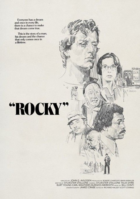Rocky  (1976) Happy Birthday, Burt Young!