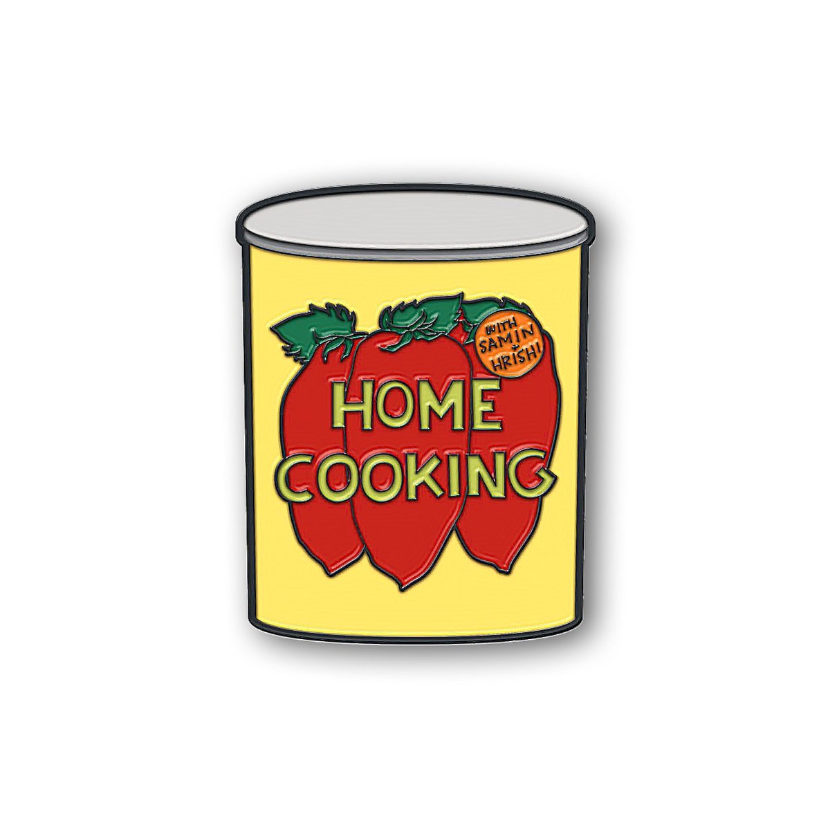 .@HrishiHirway and I are doing a little fundraiser!   Buy a sweet enamel HOME COOKING fridge magnet for $10 and we'll send every penny of profit to@nokidhungry!   Go to https://t.co/DGiiBbULN9 🧲 ❤️ https://t.co/SBR9saDTRm