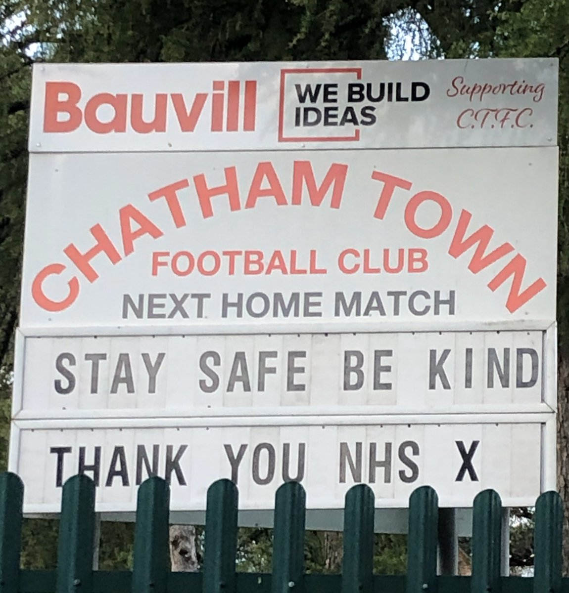 Well played @ChathamTownFC 👏 https://t.co/ggxF68oOms