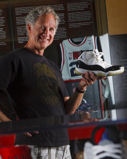 Our modern day Picasso. Happy birthday to Tinker Hatfield.