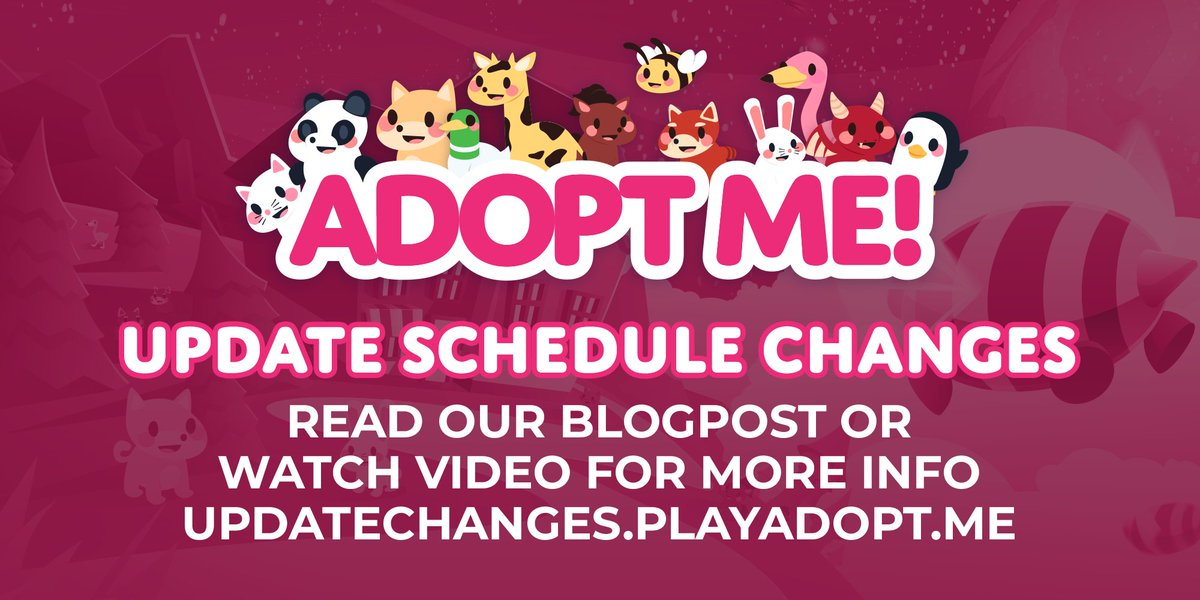 Adopt Me On Twitter Adopt Me Will No Longer Update On Friday