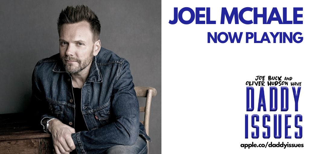 @joelmchale is on #DaddyIssues - now playing!!⁣ ⁣ Listen.cloud10.fm/daddyissues_tw