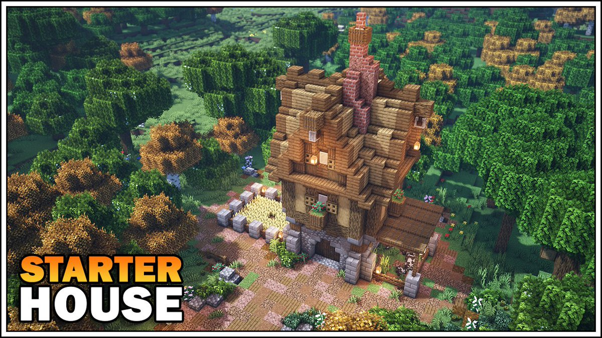 Sausage Of The Dead On Twitter New Starter Medieval House Tutorial Is Out Watch Here Https T Co 6ktz83djti Minecraft