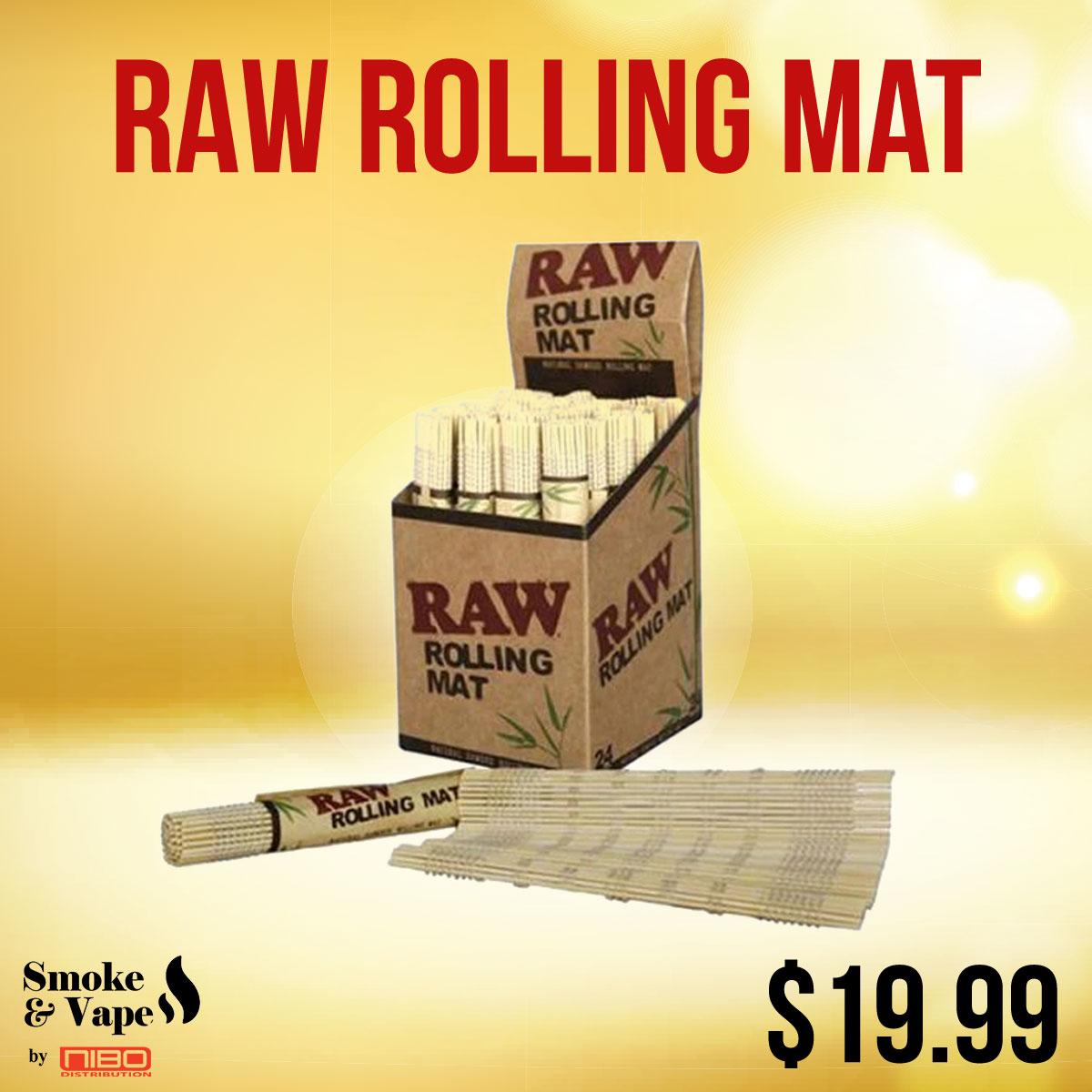 RAW Rolling Mat  https://t.co/YZD0Xrjr8p  #RawTubes #raw_rolling #tray #rawtray #smokeVape #smoking_accessory #rawtraymini #mini #mini_tray #canada #smoking #vaping #smokefans #vape #toronto_smoke_accessory https://t.co/yDqMJa3f9a