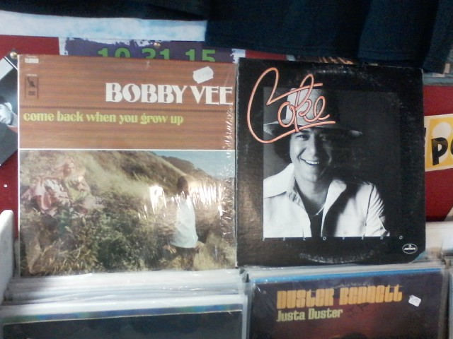 Happy Birthday to the late Bobby Vee & the late Coke Escovedo (Sheila E\s uncle)