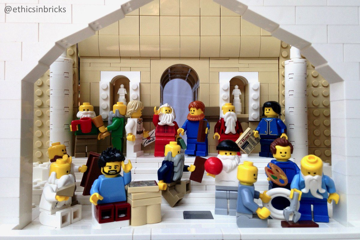 The School of Athens https://t.co/mnVilpyYQt