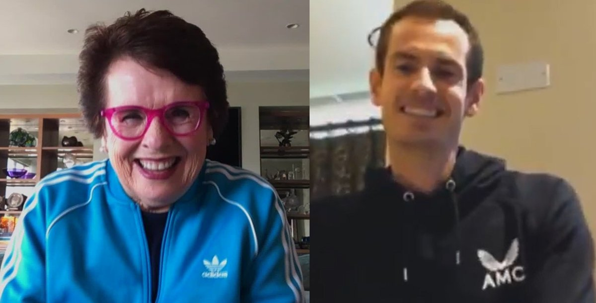 Tune in tomorrow for my exclusive joint interview with tennis legends @BillieJeanKing and @andy_murray. We'll talk life under lockdown, gender equality in tennis, and the future of their sport. 8pm CET on @cnni, 11pm ET on @PBS (check local listings). https://t.co/K4bXCbXbAZ