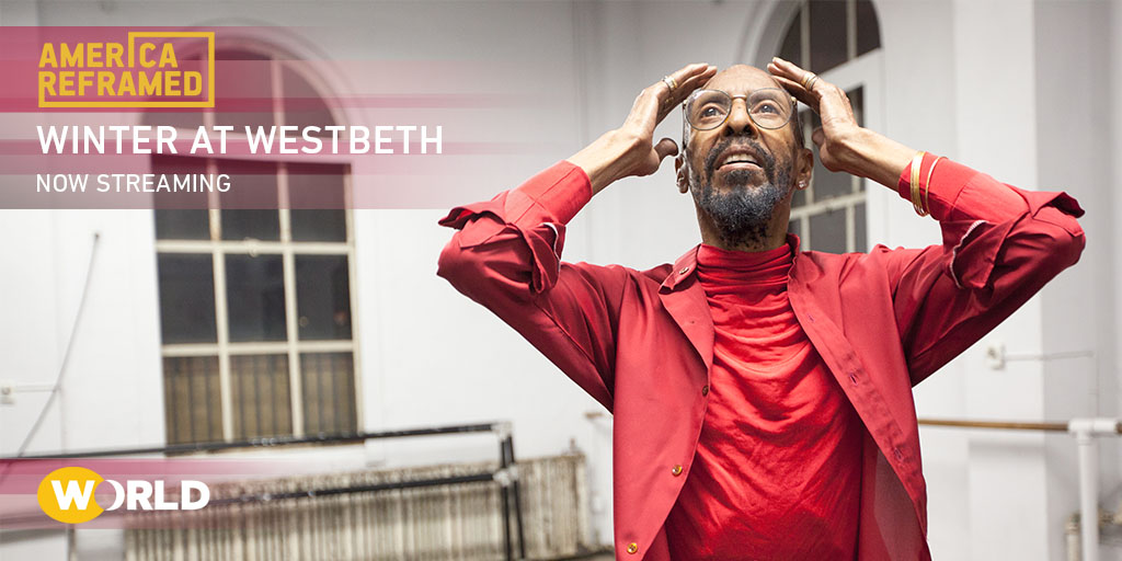 NOW STREAMING on @WORLDchannel's @AmericaReFRamed: #WinteratWestbeth offers an intimate peek into the extraordinary lives of three creatives: video artist Edith Stephen, poet Ilsa Gilbert, and dancer Dudley Williams. Watch at 7pm on @KQED https://t.co/nW5xwDzGw8 #WORLDxPRIDE https://t.co/C7vB3A0eyE