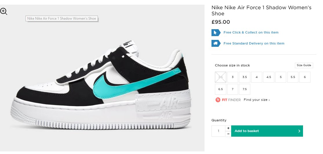 Ballin Sneaks On Twitter Jd Sports Uk Wmns Nike Air Force 1 Shadow White Black Aurora Available Https T Co Qamagt7kti Кроссовки nike ndstrkt air force 1. jd sports uk wmns nike air force