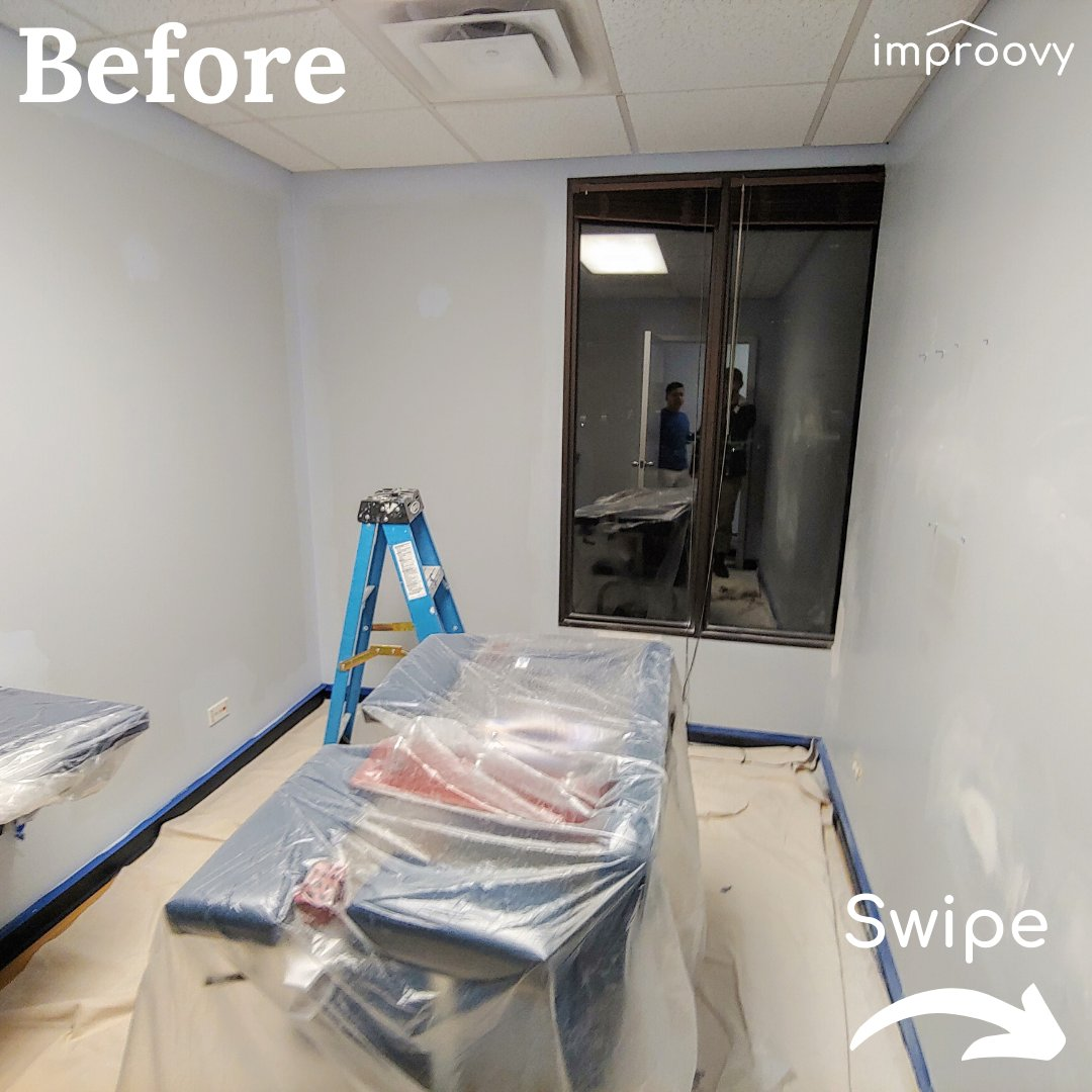 """Check-In"" to your Dr.'s appointment then Check-OUT these before and afters!  . http://bit.ly/Improovy   . #chicagosuburbs #paintersnearme #interiorpainters #chicagopainters #housepainters #painterschicago #homepainting #painters #nearmepic.twitter.com/v6ALUOZn4N"