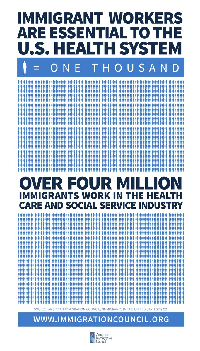 Immigrants help build and protect America!  Let's support them now #ImmigrantHealthHeroes #immigrationlawyer