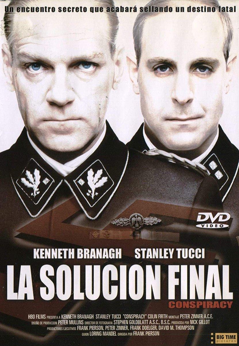 """Antonio Rentero on Twitter: """"Mi película de nazis favorita es """"La solución  final"""" (Conspiracy, 2001). Producción BBC/HBO protagonizada por Kenneth  Branagh y Stanley Tucci. Recreación fría y espeluznante d la reunión en"""