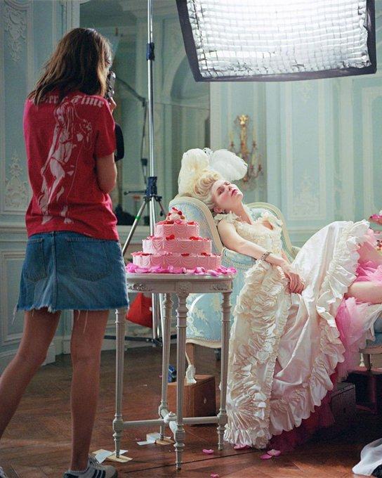 Happy birthday Kirsten Dunst, seen here behind the scenes of Sofia Coppola\s Marie Antoinette!