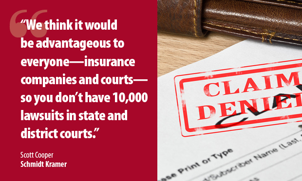 Scott Cooper of @DialThe8s urged the Pennsylvania Supreme Court to weigh in on a dispute between a Pittsburgh restaurant and its insurance carrier. Story: https://www.law.com/thelegalintelligencer/2020/04/30/closed-for-covid-restaurant-asks-pa-justices-to-fast-track-ruling-on-insurance-coverage/ …pic.twitter.com/6AF9RLLOZI