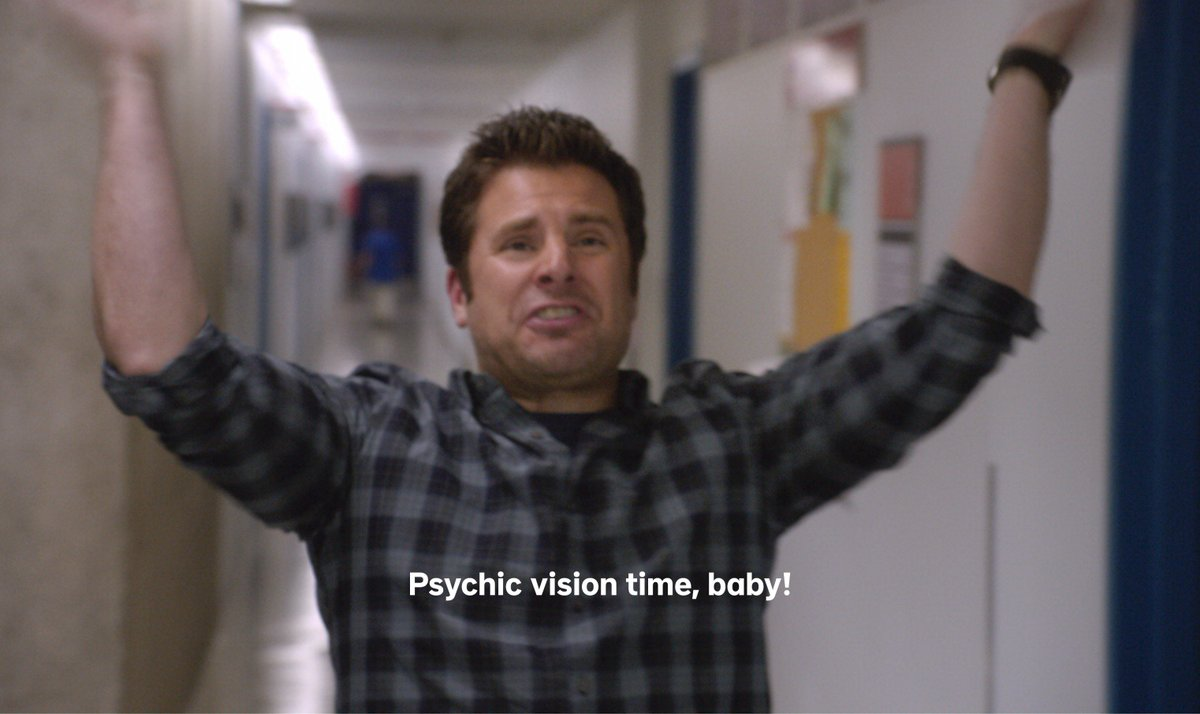 Its always psychic vision time, baby! Even though our Super-sized Psychtacular Binge-a-thon is over, the #Psych fun never ends!