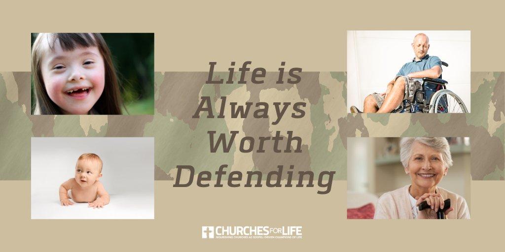 All Life is Always Worth Defending  #ProLife #ProLifeGeneration #ProLove #StudentsforLife #churchesforlife #DefendLife pic.twitter.com/iABFVPLoFA