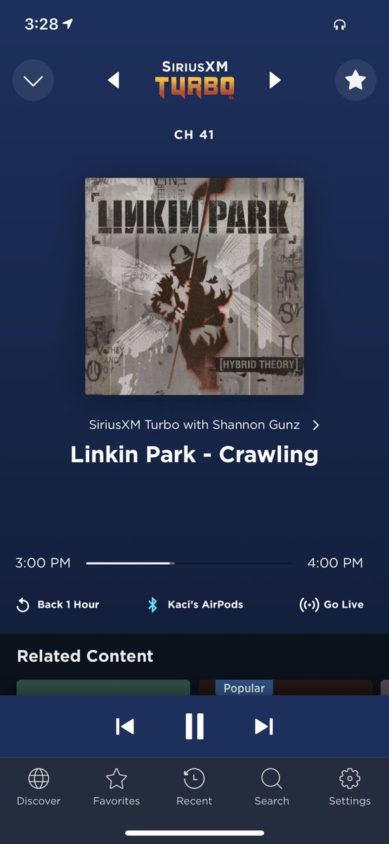 @MrORuns How appropriate to be the first song to start my run!! I did not make this up either! #LinkinPark