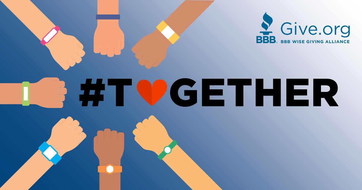 We're #InThisTogether! Support #BBB Accredited Charities like World Relief, @WorldRelief. #COVID #Coronavirus #WGA