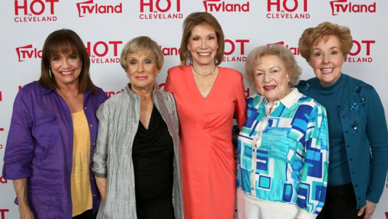 What can I say?  Valerie Harper, Cloris Leachman ,Mary Tyler Moore,  Betty White and Georgia Engel #TheMaryTylerMooreShow <br>http://pic.twitter.com/WP79rFfkW1