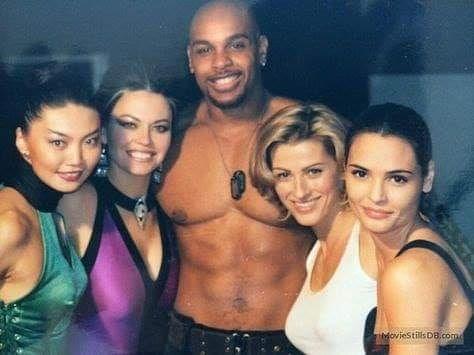 Punk Black On Twitter 1997 Throwback On Set From Mortal Kombat