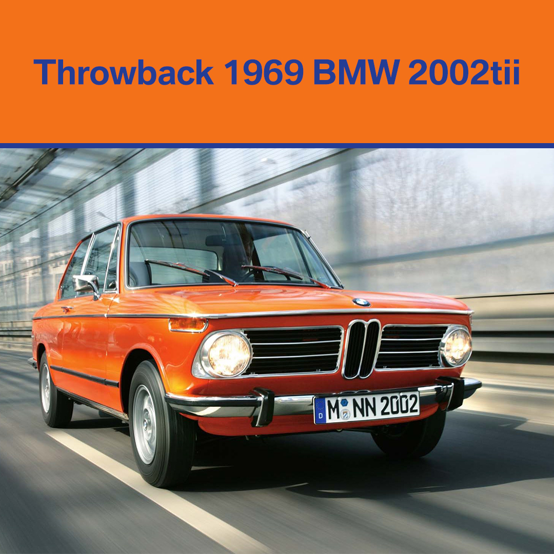 #ThrowbackThursday: the 1969 BMW 2002tii - REVOLUTIONARY! #yegBMW  http://EdmontonBMW.com   #yegcars #ThrowbackBMW #bimmerlove pic.twitter.com/HWv4I1mGhL