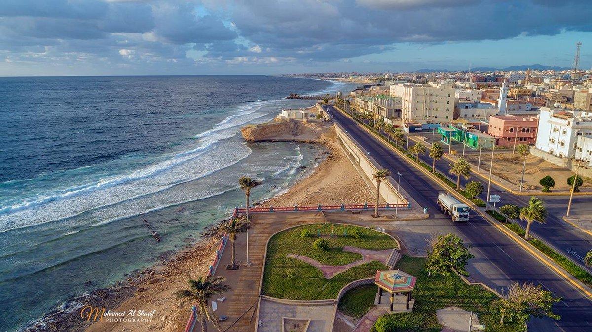 سناب تبوك Ar Twitter صورة للكورنيش الجنوبي في محافظة الوجه الذي يطل على شاطئ البحر الأحمر تصوير محمد الشريف تبوك كل يوم صورة