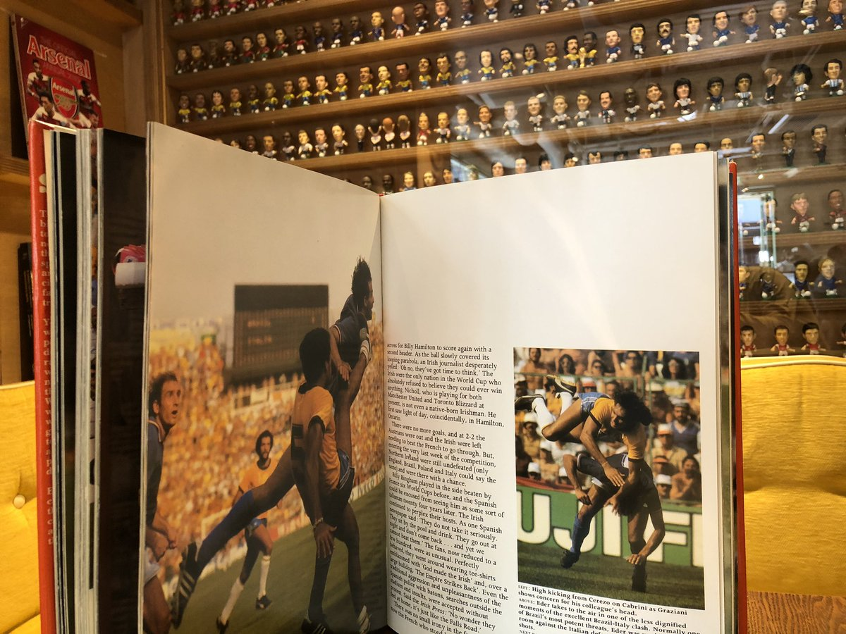 test ツイッターメディア - ワールドカップ スペイン大会の本でオスカーの勇姿を確認した。素晴らしい1枚の写真。 https://t.co/vwBZRyl1lz