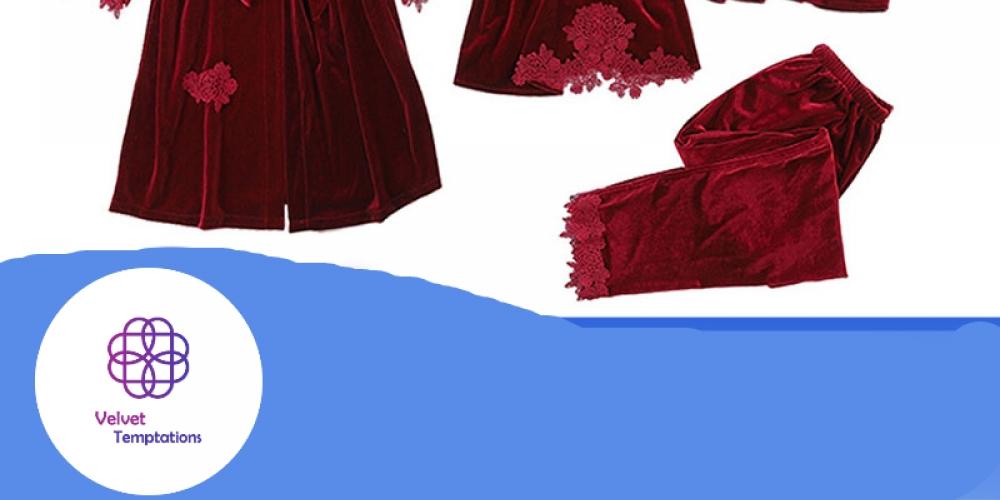#lingeriedeluxo #modaintima Women's Pajamas Set Consisting Of 4 Pieces https://velvettemptations.com/womens-pajamas-set-consisting-of-4-pieces/…pic.twitter.com/J9Sfsrzy9x