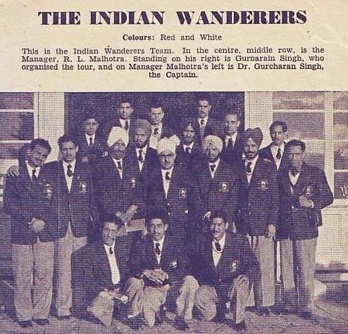 1955 #Hockey programme, Indian Wanderers tour visit to Western Australia.  #indiakagame #hockeyhistory #vintage<br>http://pic.twitter.com/8lIZBxGsvs